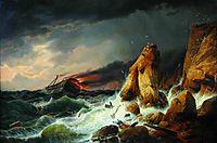 Shipwreck, 1850, bogolyubov