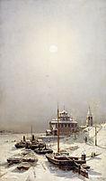Winter in Borisoglebsk, bogolyubov