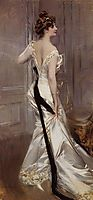 The Black Sash, 1905, boldini