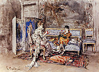 The Conversation, 1870, boldini