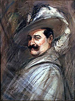Costantino in the role of Ernani , c.1910, boldini