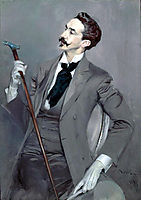 Count Robert de Montesquiou, 1897, boldini