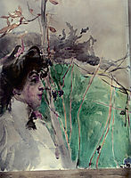 Female Profile, boldini