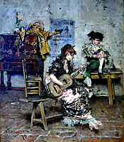 A Guitar Player , 1873, boldini