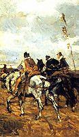 Horses and Knights, boldini