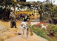 In the Garden, boldini