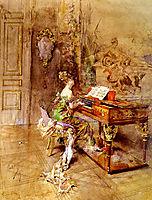 The Lady Pianist, boldini
