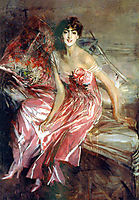 Lady in Rose, boldini