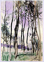 Landscape with Trees, 1900, boldini
