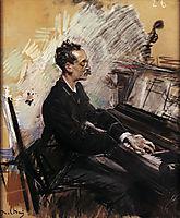 The Pianist A. Rey Colaco, boldini