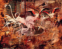 Pink Palace Ibis in the Vesinet, 1910, boldini