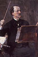 Portrait of Emanuele Muzio, 1892, boldini