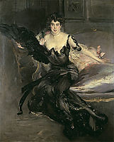 Portrait of a Lady, Mrs Lionel Phillips, 1903, boldini