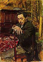 Portrait of the Painter Joaquin Araujo Ruano, boldini