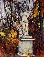 Statue in the Park of Versailles, boldini