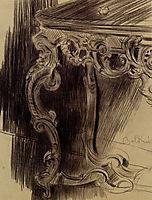 Study of a Table, boldini