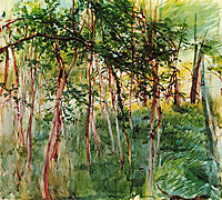 Trees in the Bois de Boulogne, boldini