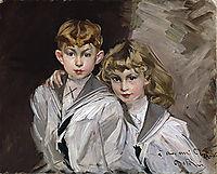 The two children , boldini