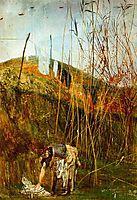 Wall Paintings of Falconiera, boldini