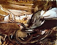 Wild game in Black, boldini
