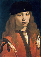 Francesco Sforza, count of Pavia?, 1498, boltraffio