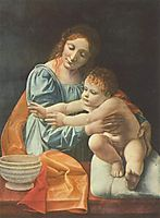 Madonna and Child, 1500, boltraffio