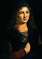 Portrait alleged to be of Anne Whateley (in fact likely to be Girolamo Casio), 1495, boltraffio