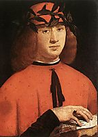 Portrait of Gerolamo Casio, 1495, boltraffio