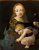 The Virgin and Child (The Madonna of the Rose), boltraffio