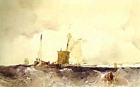 At the English Coast, 1825, bonington
