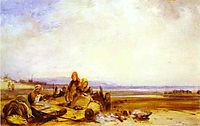 Beach in Normandy, c.1826, bonington