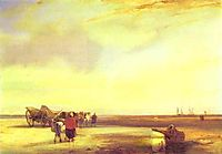 Boulogne Sands, 1827, bonington