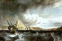Entrance into the harbour of Rio de Janeiro, c.1828, bonington