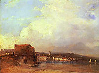 Lake Lugano, 1826, bonington