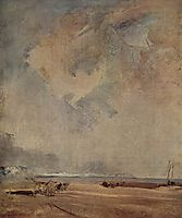 The Norman coast, c.1824, bonington