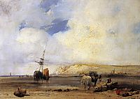 On the Coast of Picardy, 1826, bonington