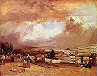 Parlerre d-eau a Versailles, 1826, bonington