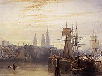 Rouen, 1825, bonington
