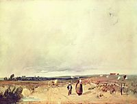 Scene in Normandy, c.1823, bonington