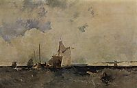 Seascape, 1827, bonington
