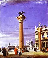 St. Mark-s Column in Venice, c.1827, bonington