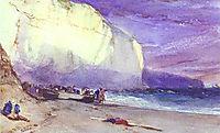 The Undercliff, 1828, bonington