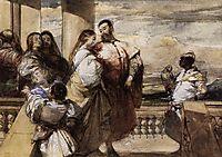 A Venetian Scene, 1828, bonington