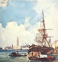 View of Venice, bonington