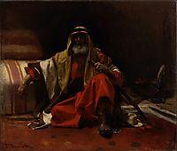 An Arab Sheik, 1870, bonnat