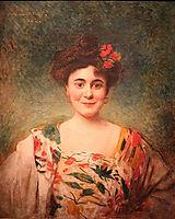 Portrait de madame Dotézac, 1902, bonnat