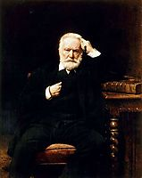 Portrait of Victor Hugo, bonnat