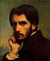 Self-portrait, 1855, bonnat