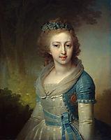 Grand Duchess Elena Pavlovna of Russia, 1799, borovikovsky