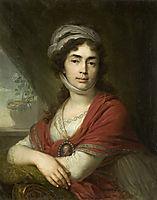 Maria Norova, 1799, borovikovsky